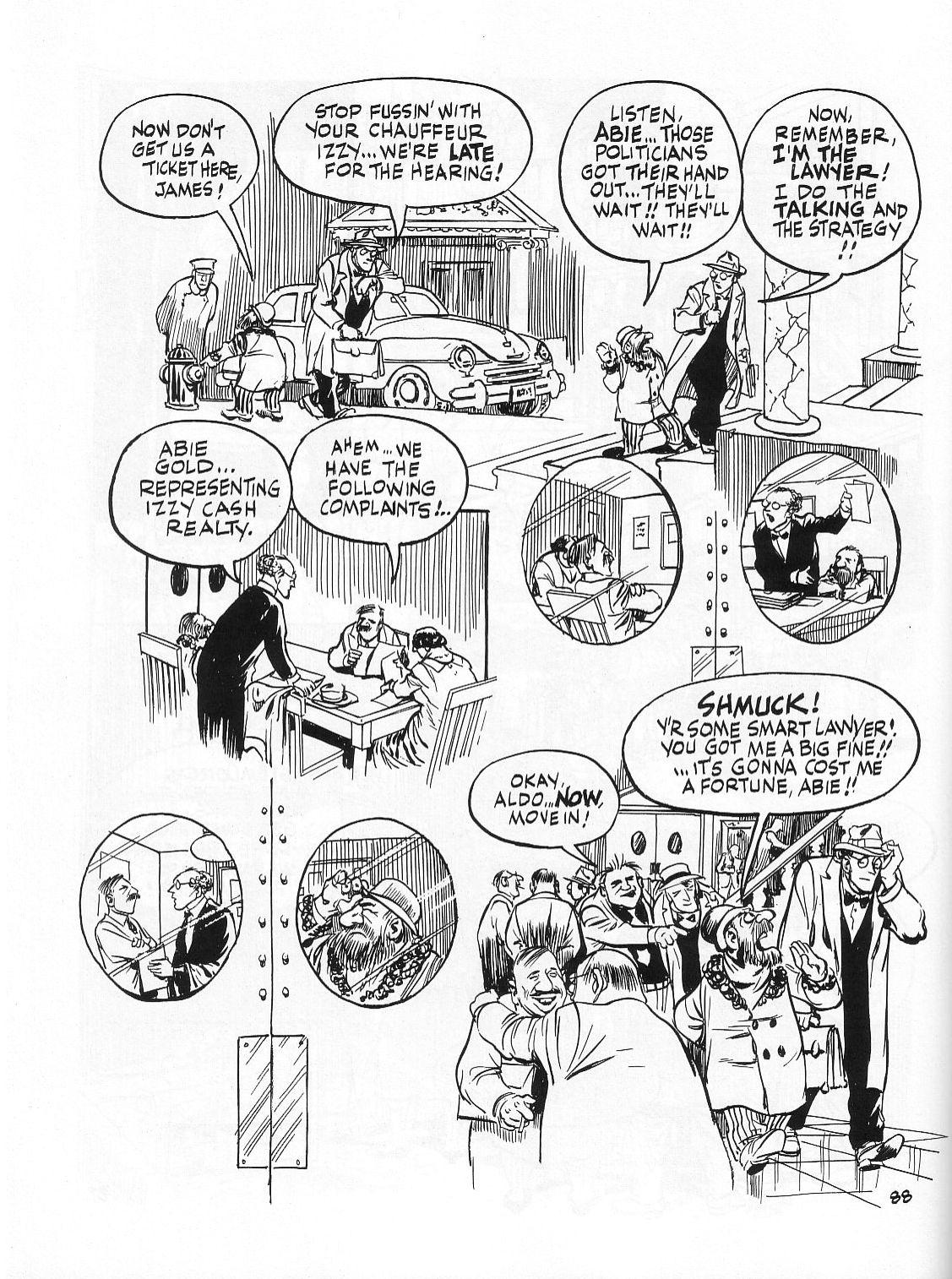 Read online Dropsie Avenue, The Neighborhood comic -  Issue # Full - 90