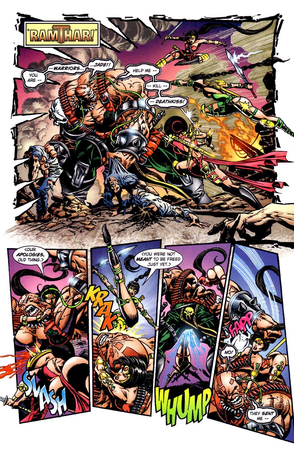 Read online Jade Warriors comic -  Issue #2 - 5