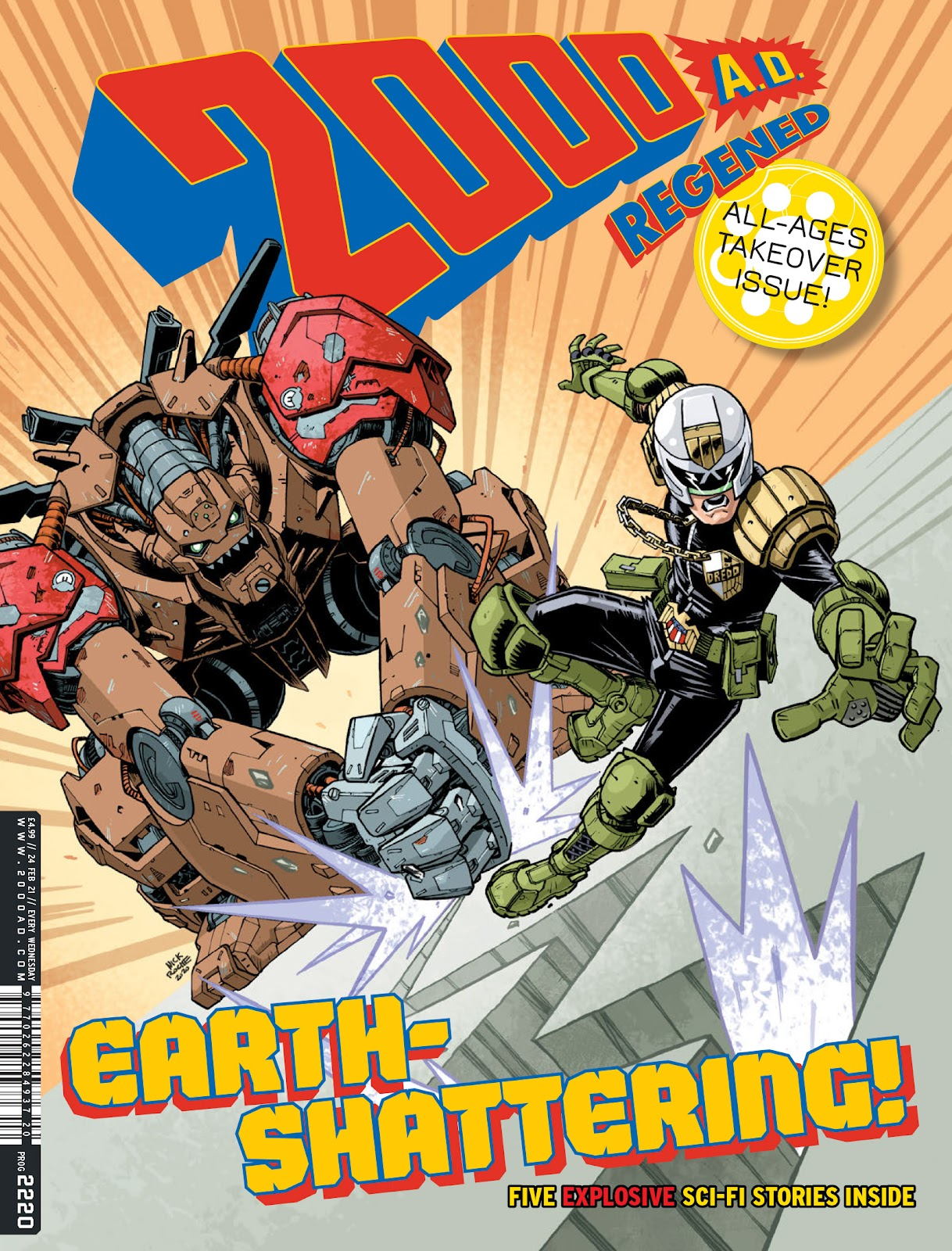 2000 AD issue 2220 - Page 1