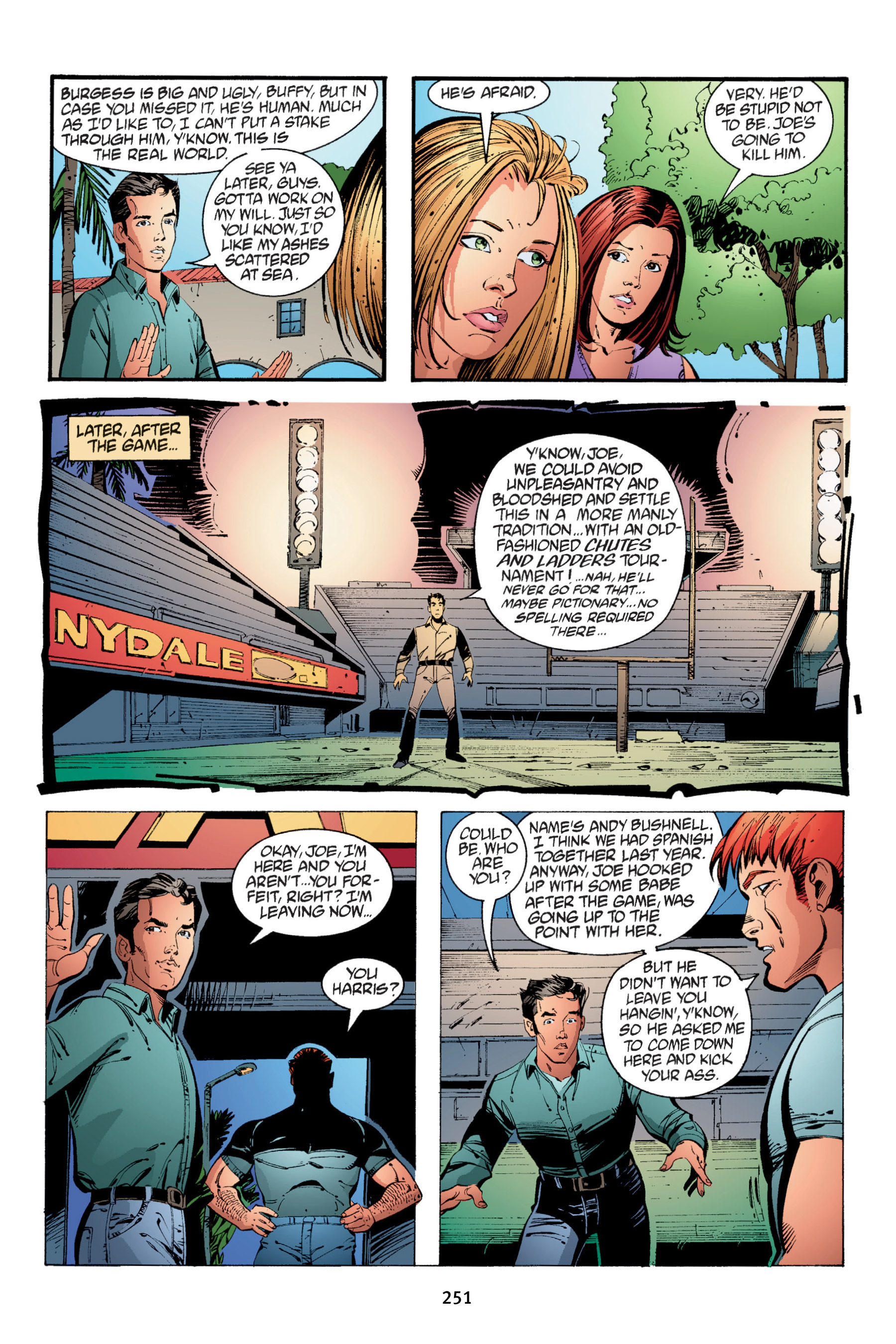 Read online Buffy the Vampire Slayer: Omnibus comic -  Issue # TPB 4 - 249