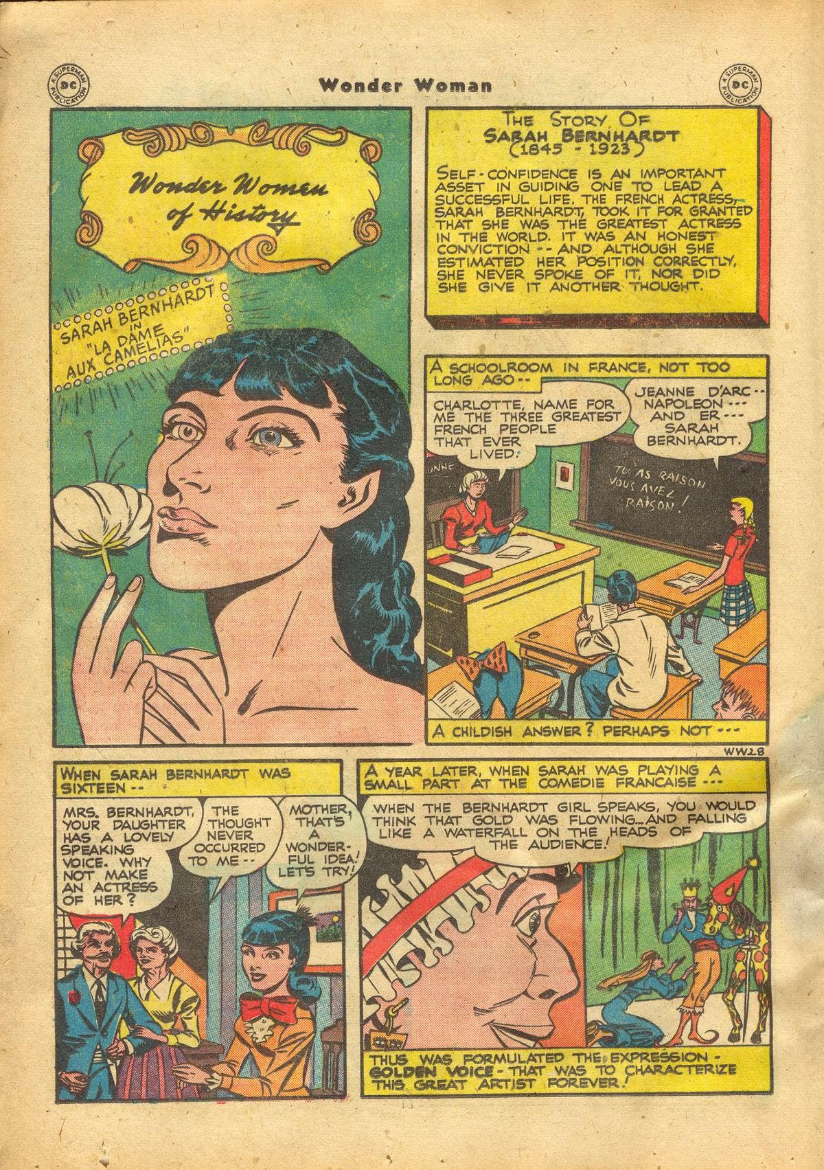 Read online Wonder Woman (1942) comic -  Issue #22 - 16
