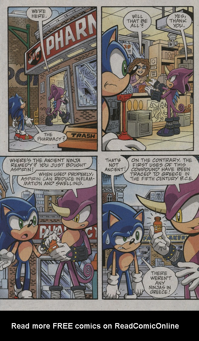 Read online Sonic X comic -  Issue #39 - 23