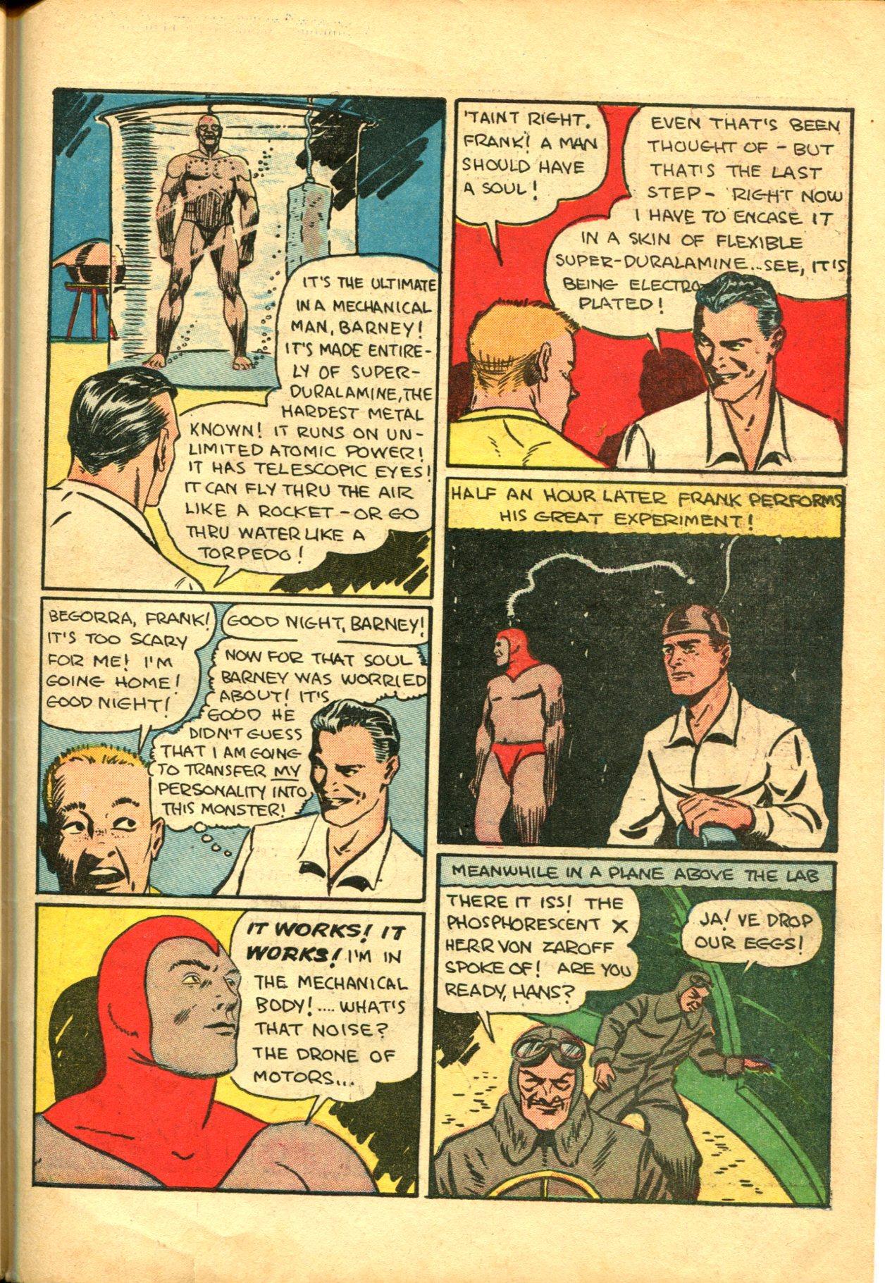 Read online Shadow Comics comic -  Issue #10 - 51