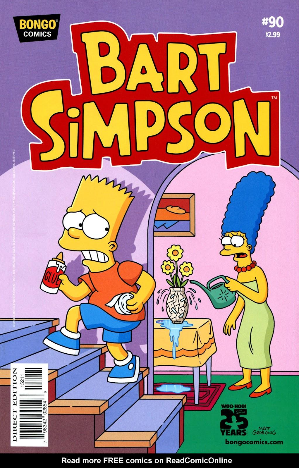 Simpsons Comics Presents Bart Simpson 90 Page 1