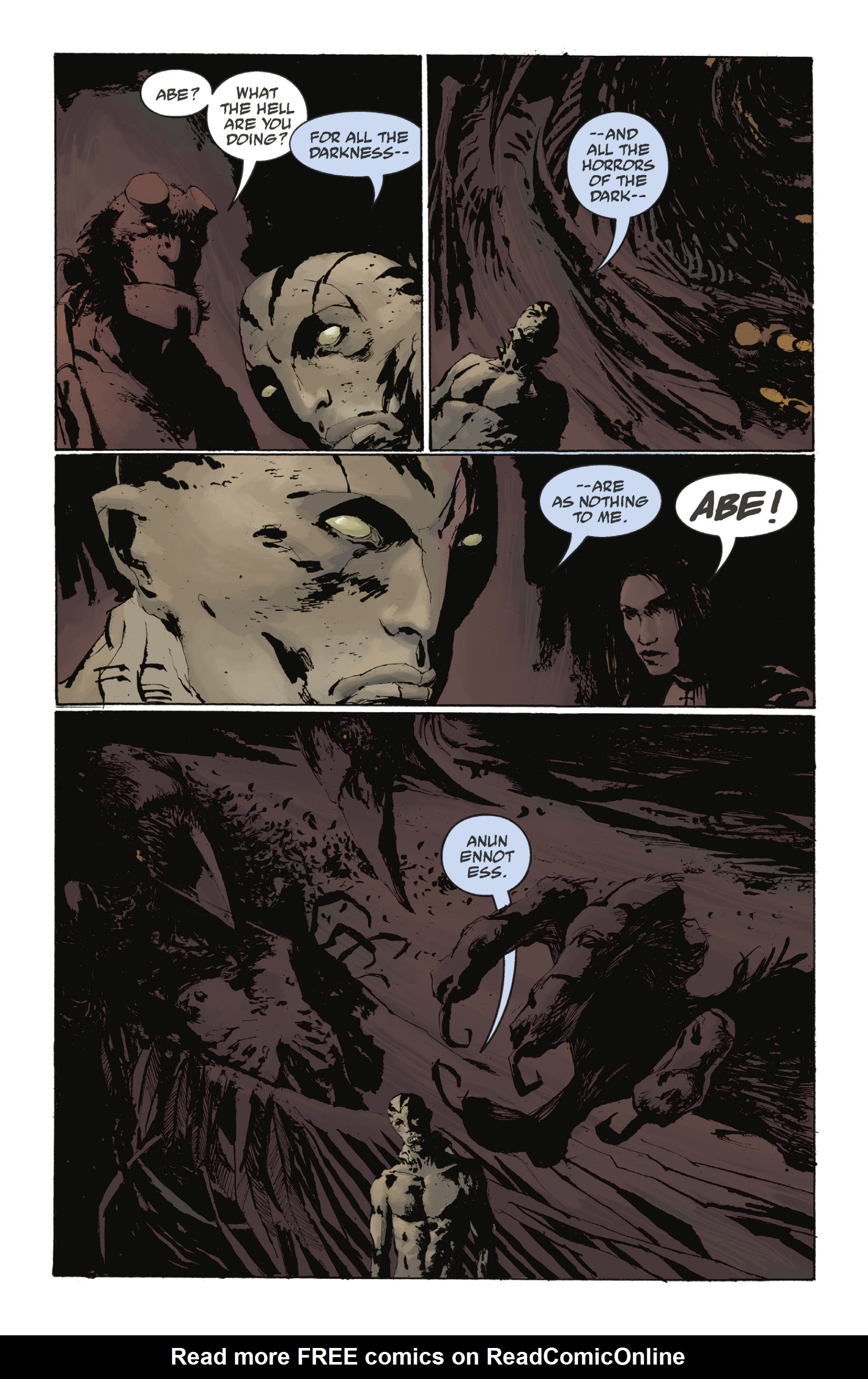 Read online Abe Sapien: The Drowning comic -  Issue #Abe Sapien: The Drowning _TPB - 91