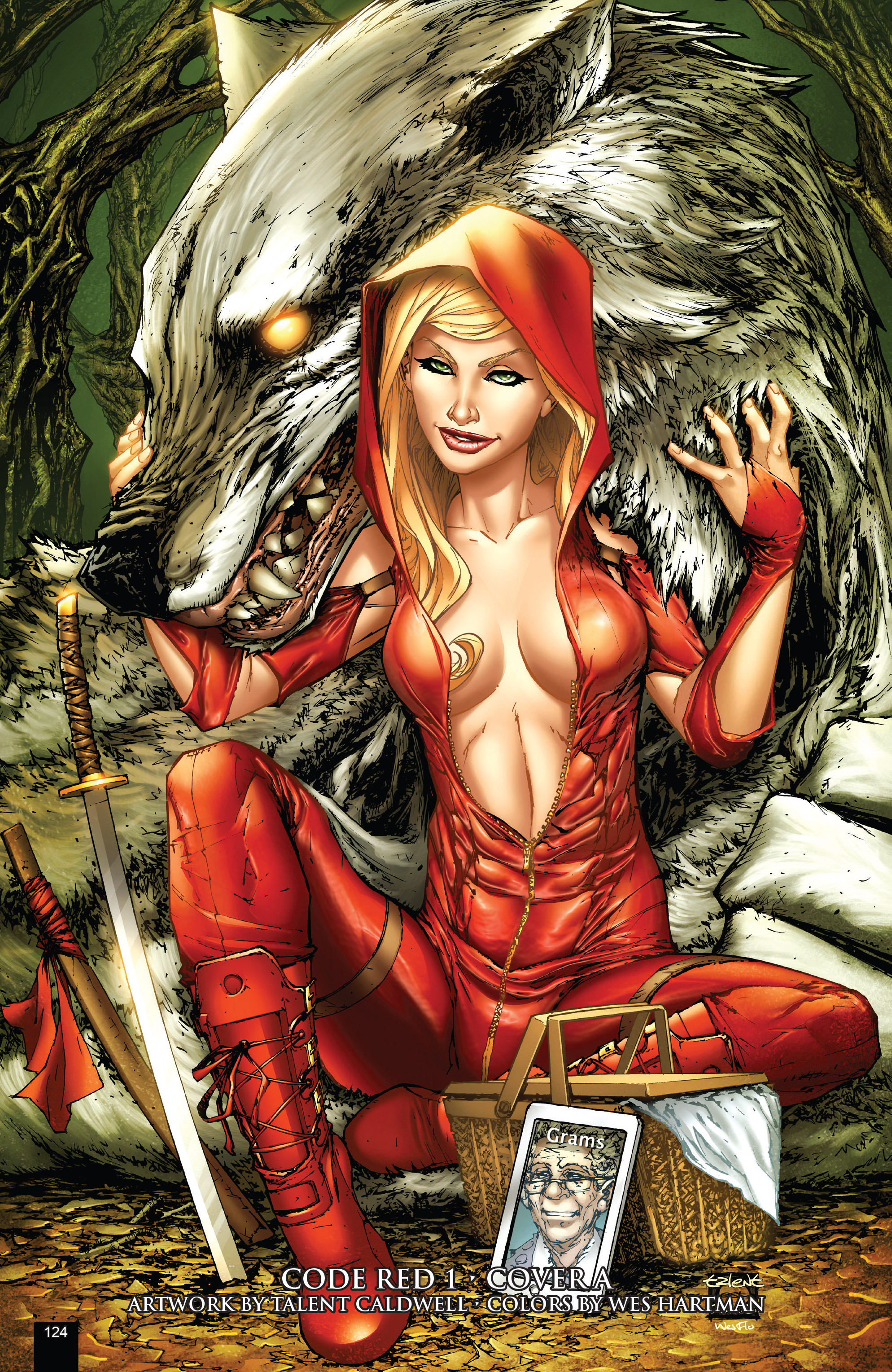 Read online Grimm Fairy Tales presents Code Red comic -  Issue # TPB - 124