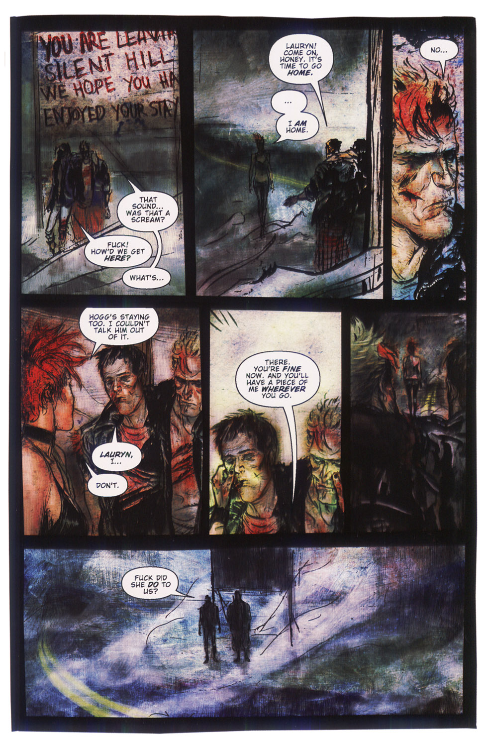 Read online Silent Hill: Dying Inside comic -  Issue #5 - 23