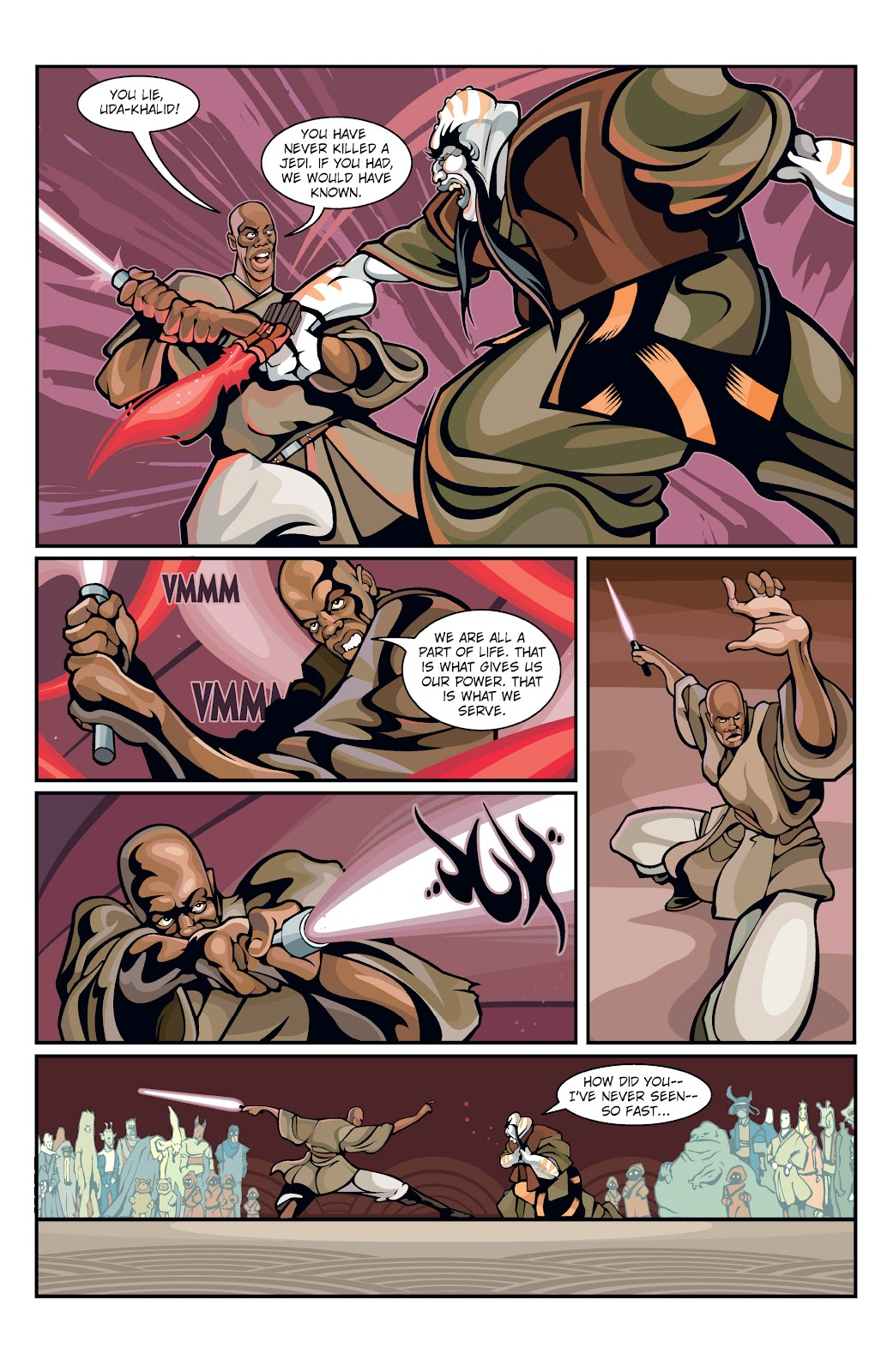 Read online Star Wars Legends: Rise of the Sith - Epic Collection comic -  Issue # TPB 1 (Part 1) - 22