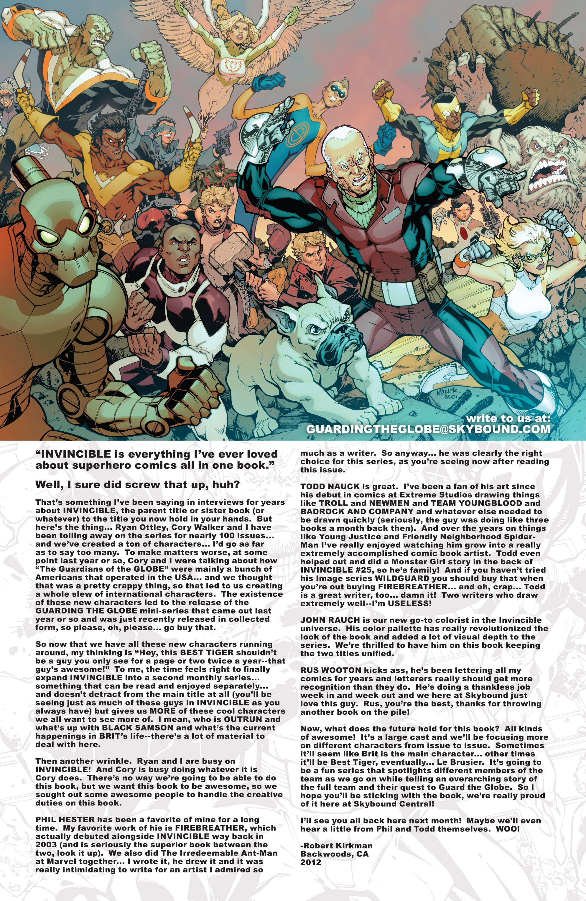 Read online Guarding the Globe (2012) comic -  Issue #1 - 24