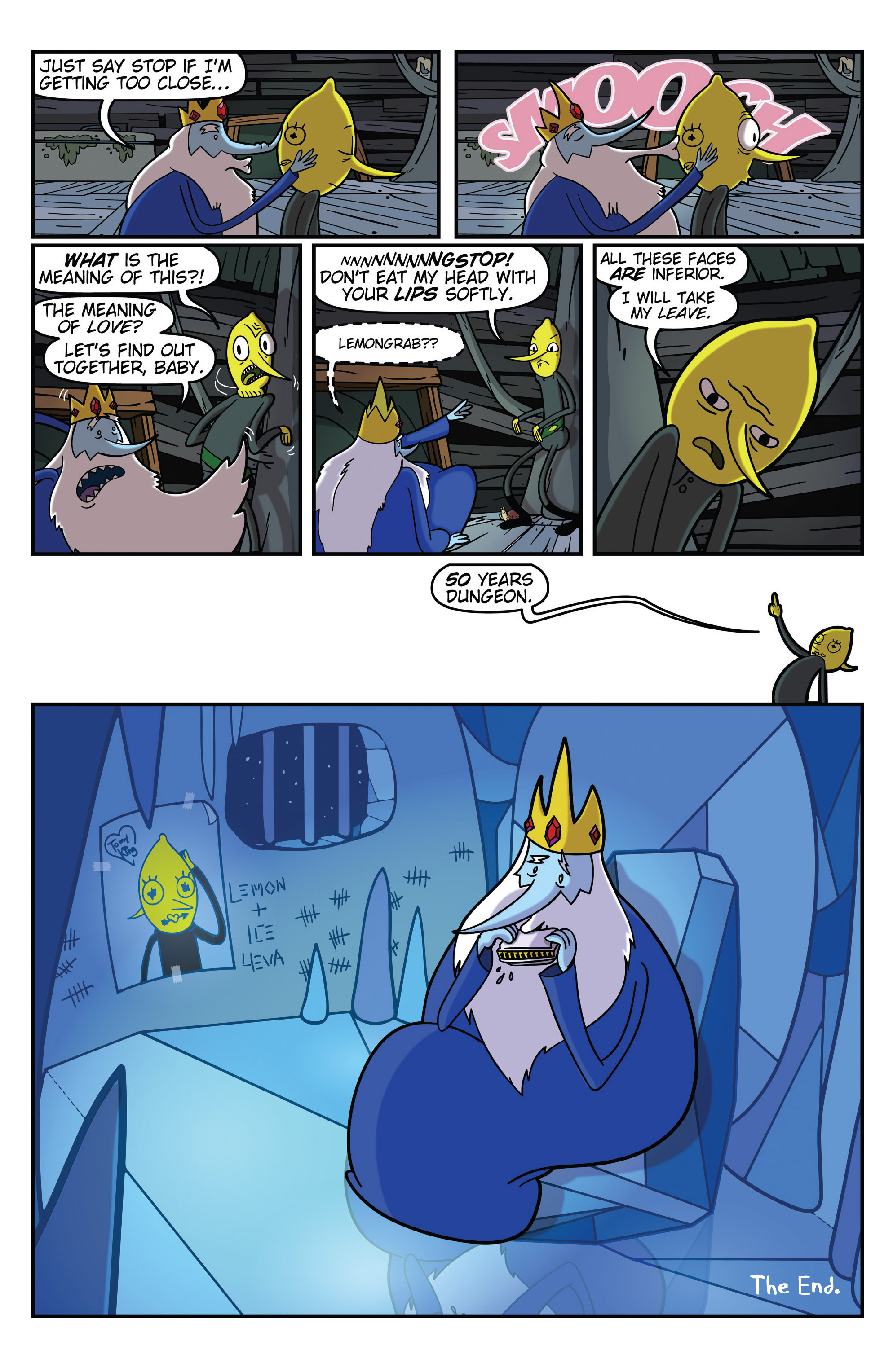 Read online Adventure Time comic -  Issue #31 - 25
