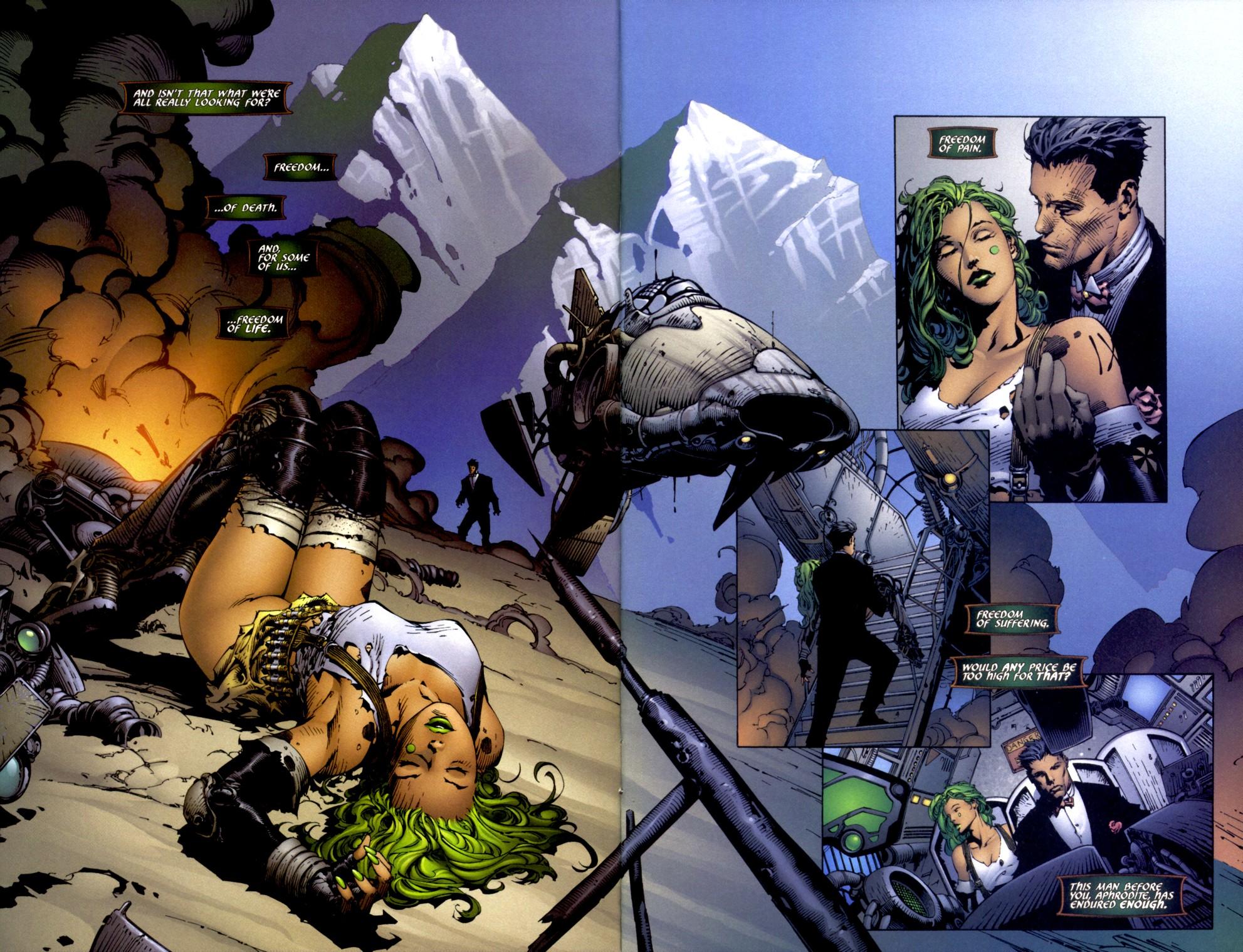 Read online Aphrodite IX (2000) comic -  Issue #2 - 7