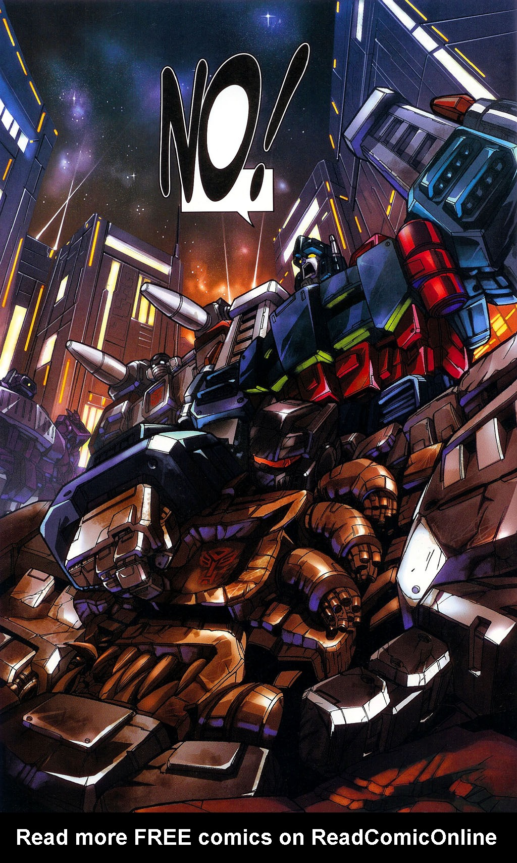 """Read online Transformers War Within: """"The Age of Wrath"""" comic -  Issue #1 - 25"""