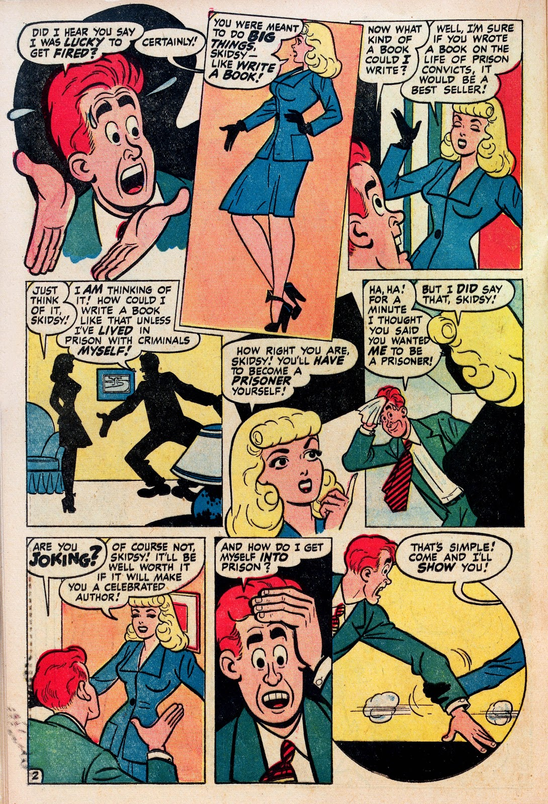 Read online Comedy Comics (1948) comic -  Issue #1 - 20