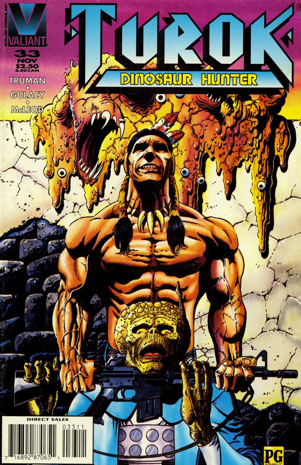 Read online Turok, Dinosaur Hunter (1993) comic -  Issue #33 - 1