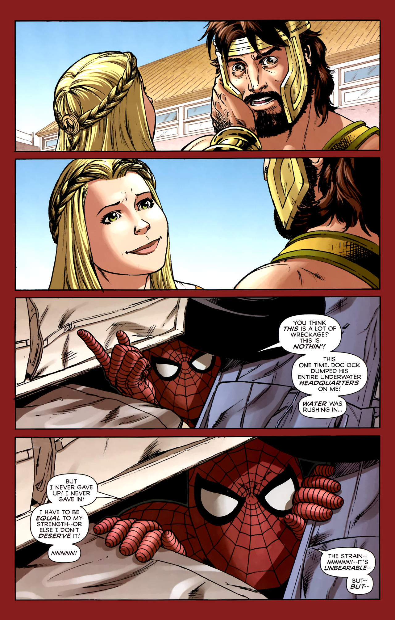 Read online Assault on New Olympus Prologue comic -  Issue #Assault on New Olympus Prologue Full - 26