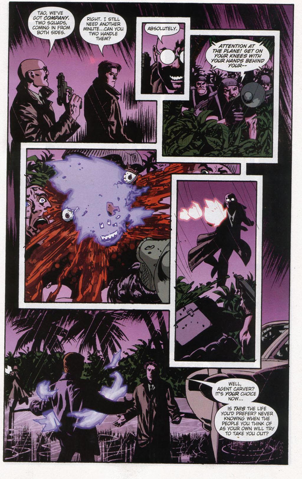 Read online Sleeper comic -  Issue #12 - 21
