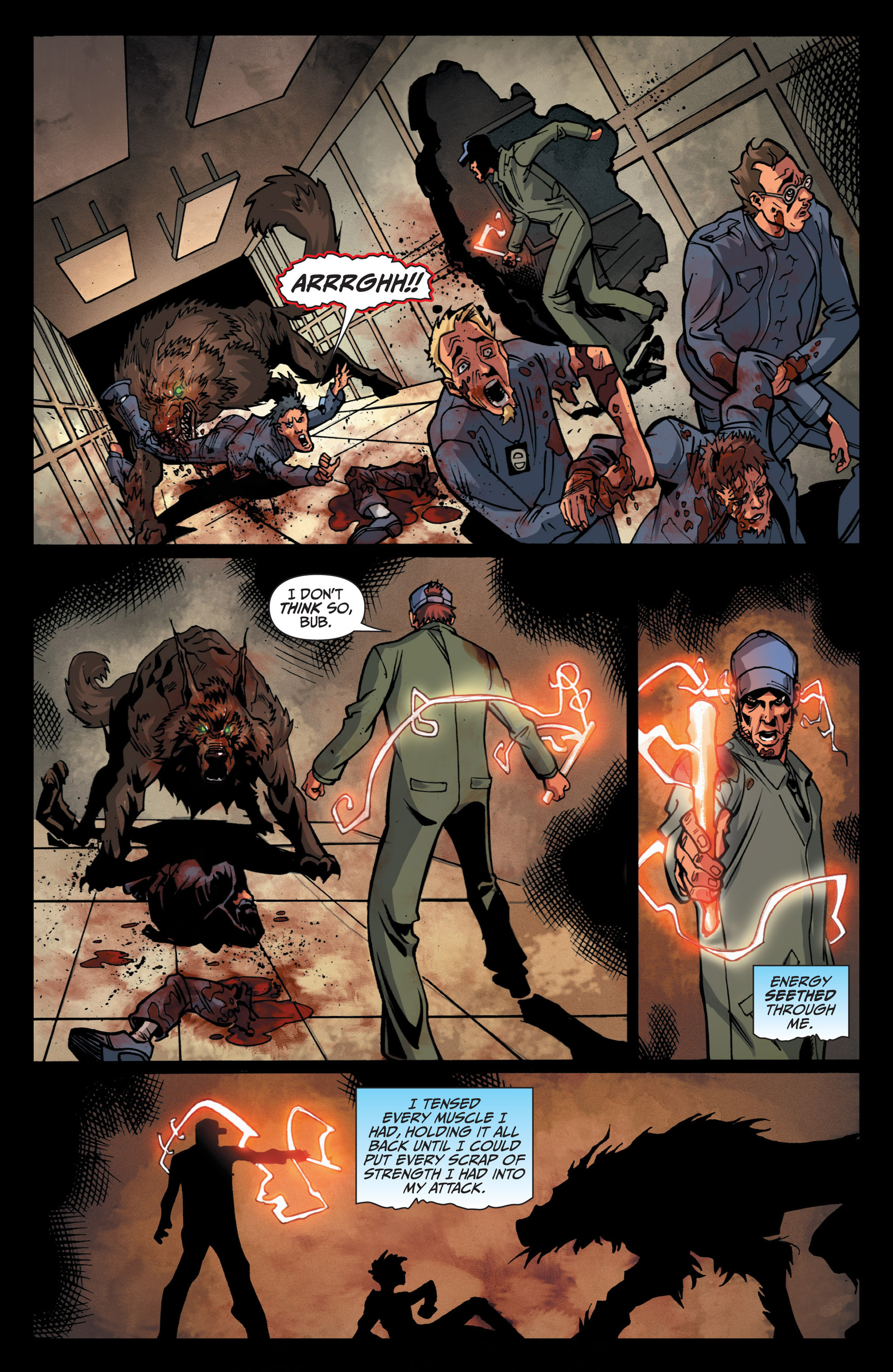 Read online Jim Butcher's The Dresden Files: Fool Moon comic -  Issue #5 - 22