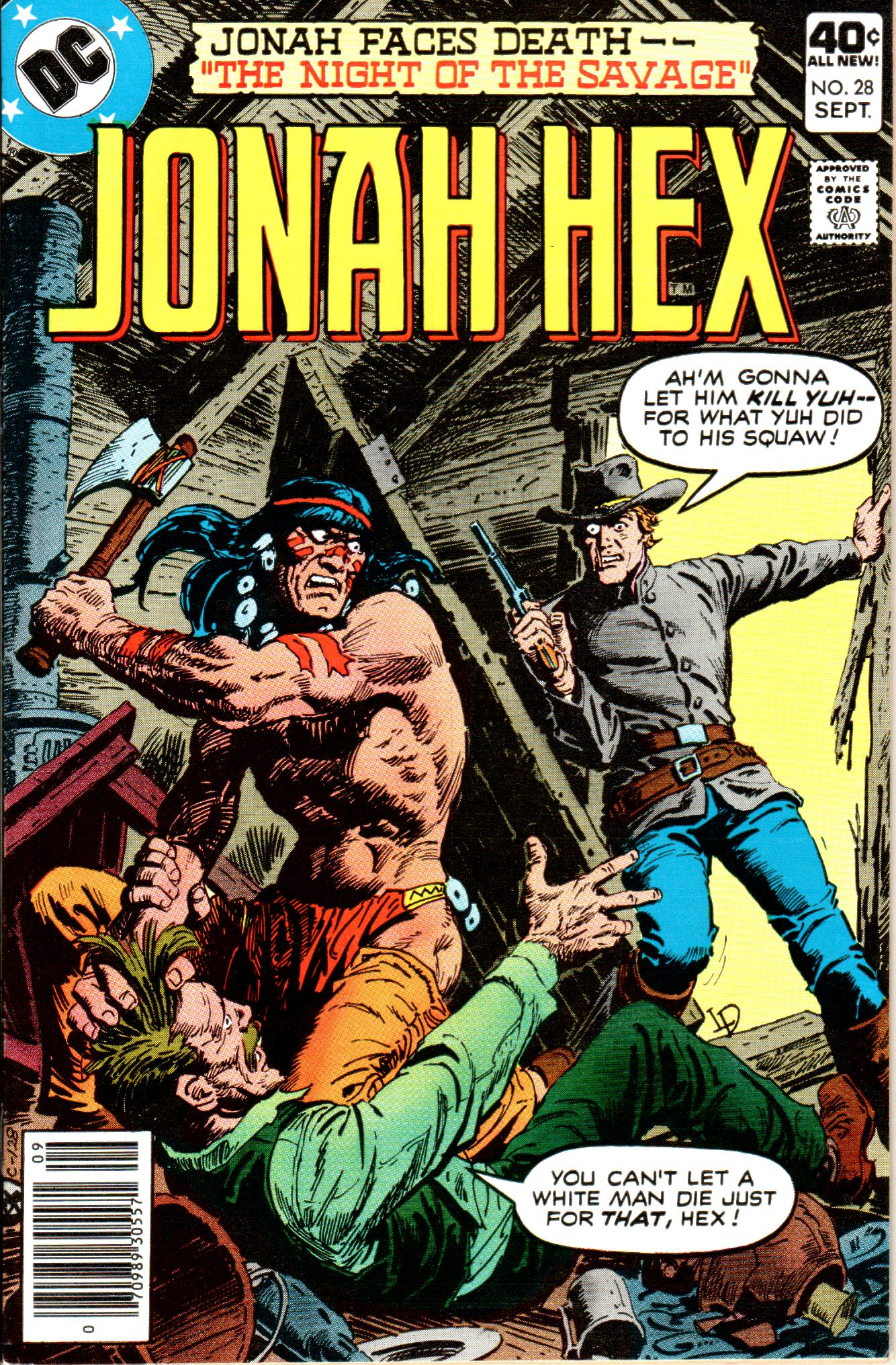 Jonah Hex (1977) 28 Page 1