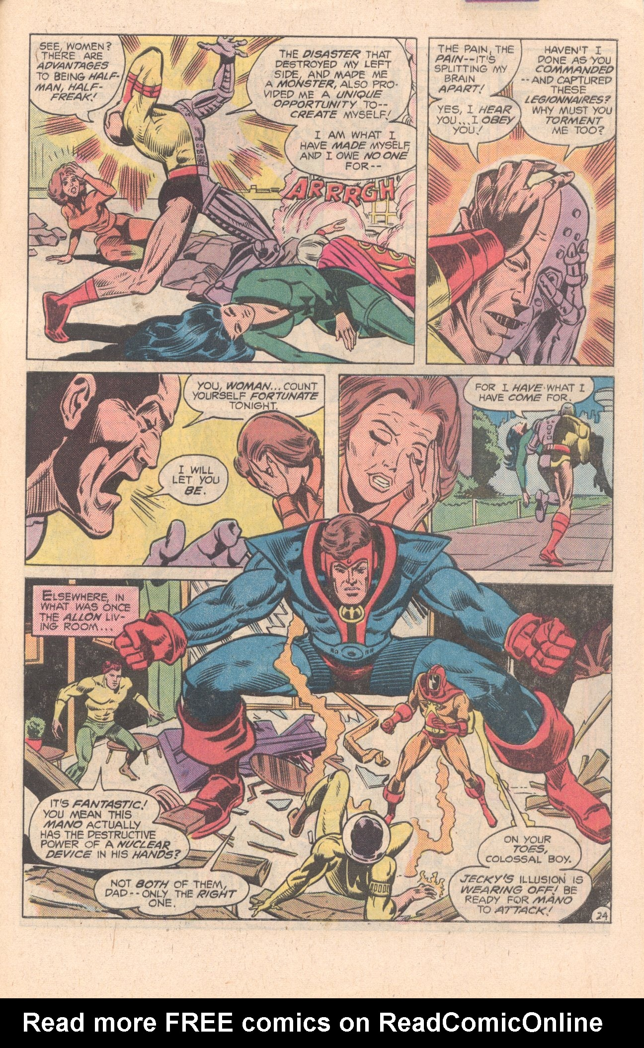 Legion of Super-Heroes (1980) 269 Page 25