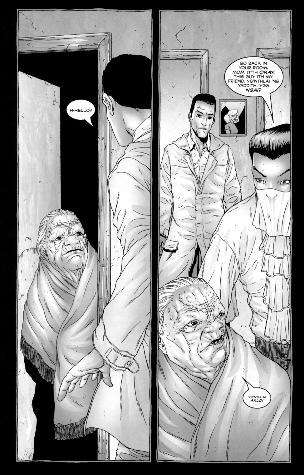 Read online Alan Moore's The Courtyard comic -  Issue #2 - 8