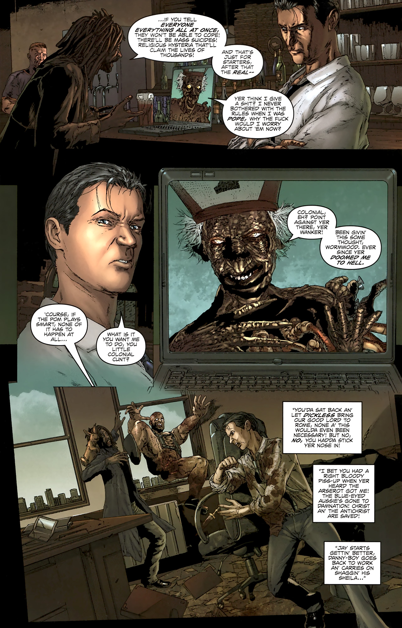 Read online Chronicles of Wormwood: The Last Battle comic -  Issue #5 - 20