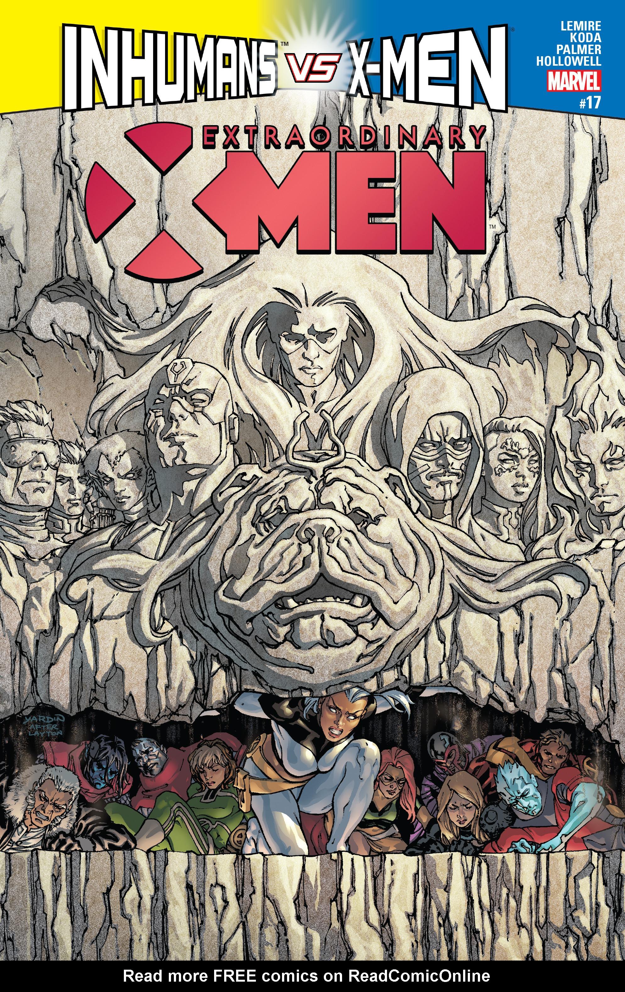 Extraordinary X-Men 17 Page 1