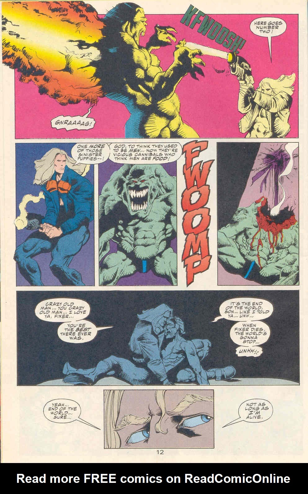 Read online Kamandi: At Earth's End comic -  Issue #1 - 13