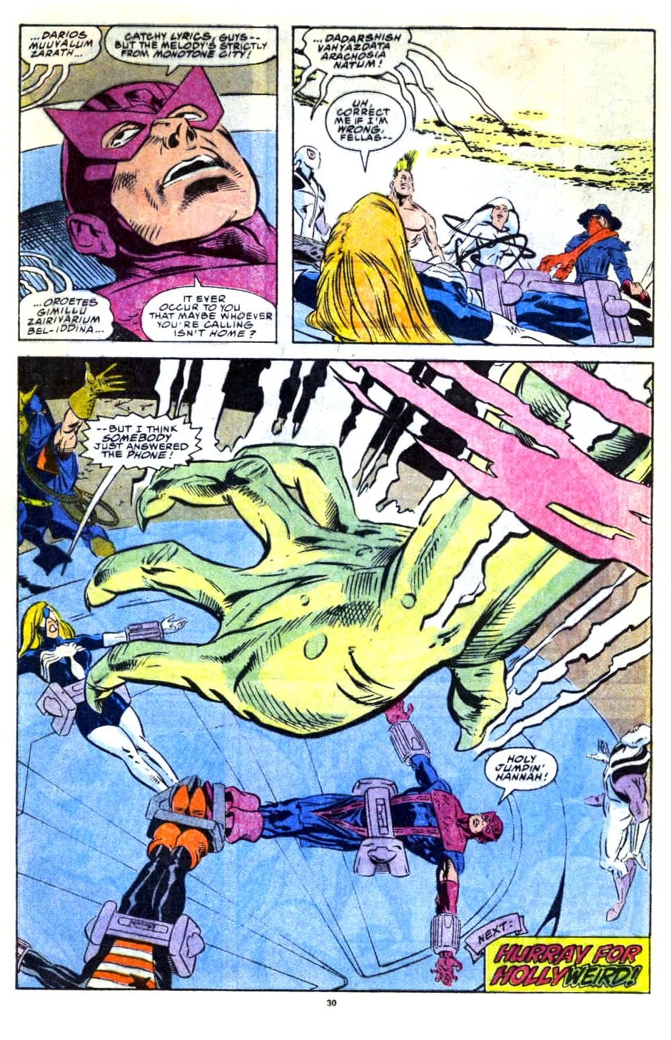 Avengers West Coast (1989) issue 76 - Page 23