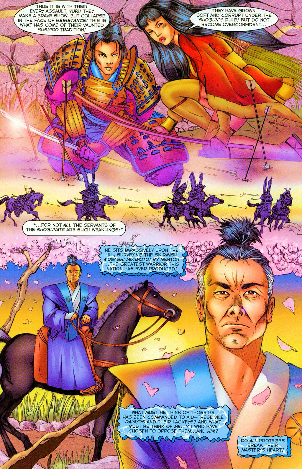 Read online Shi: Heaven And Earth comic -  Issue #2 - 9