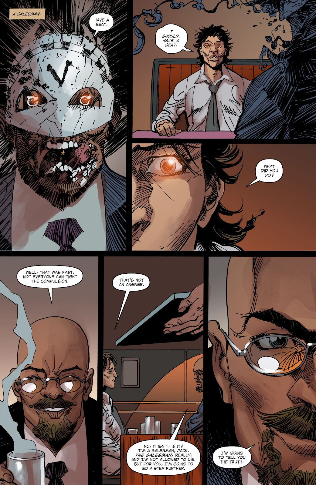 Read online The Curse of Brimstone: Ashes comic -  Issue # TPB (Part 2) - 4