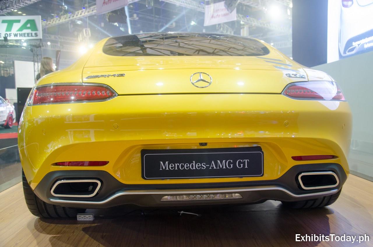 Mercedes-AMG GT (back)