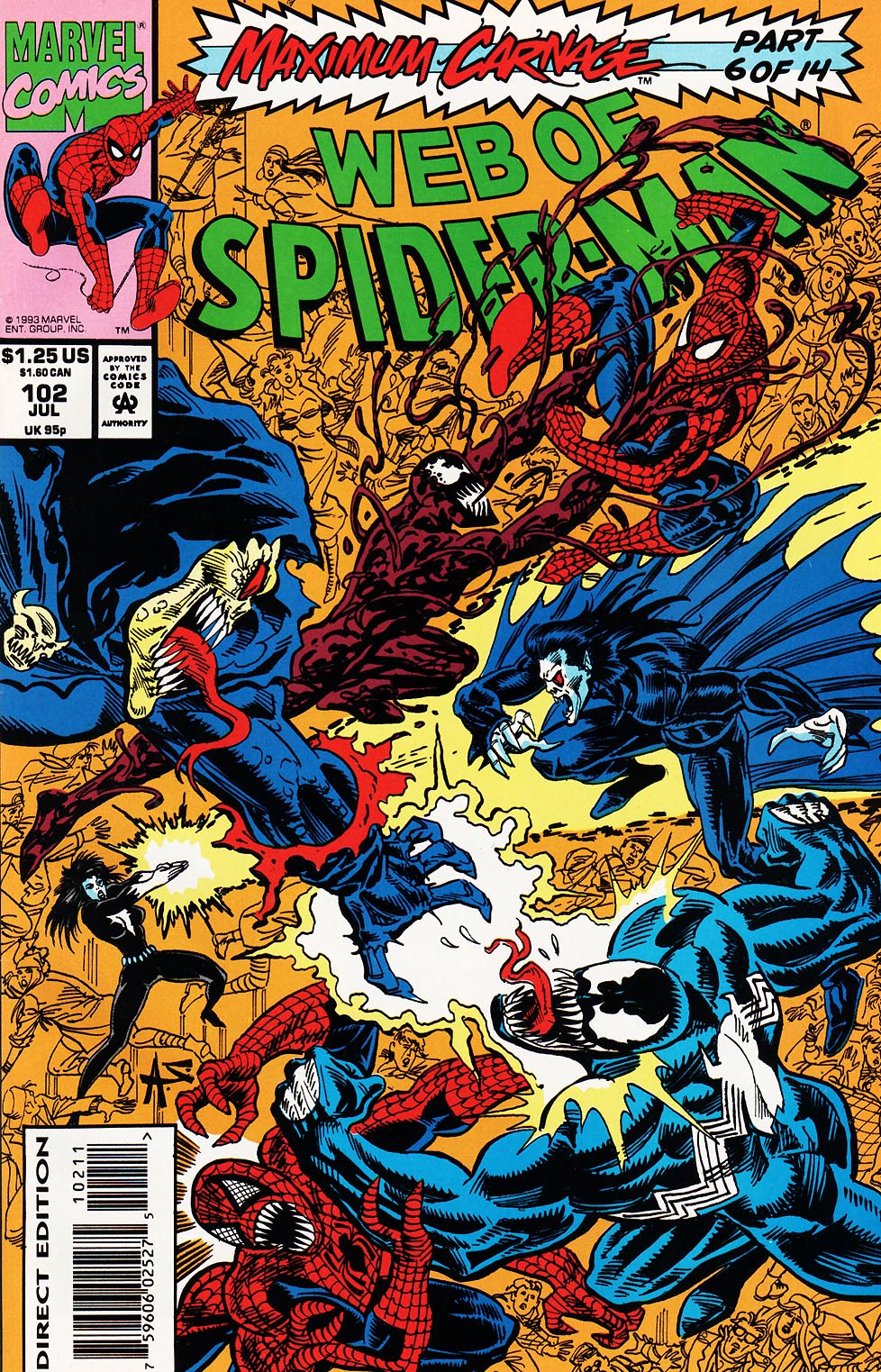 Web of Spider-Man (1985) 102 Page 1