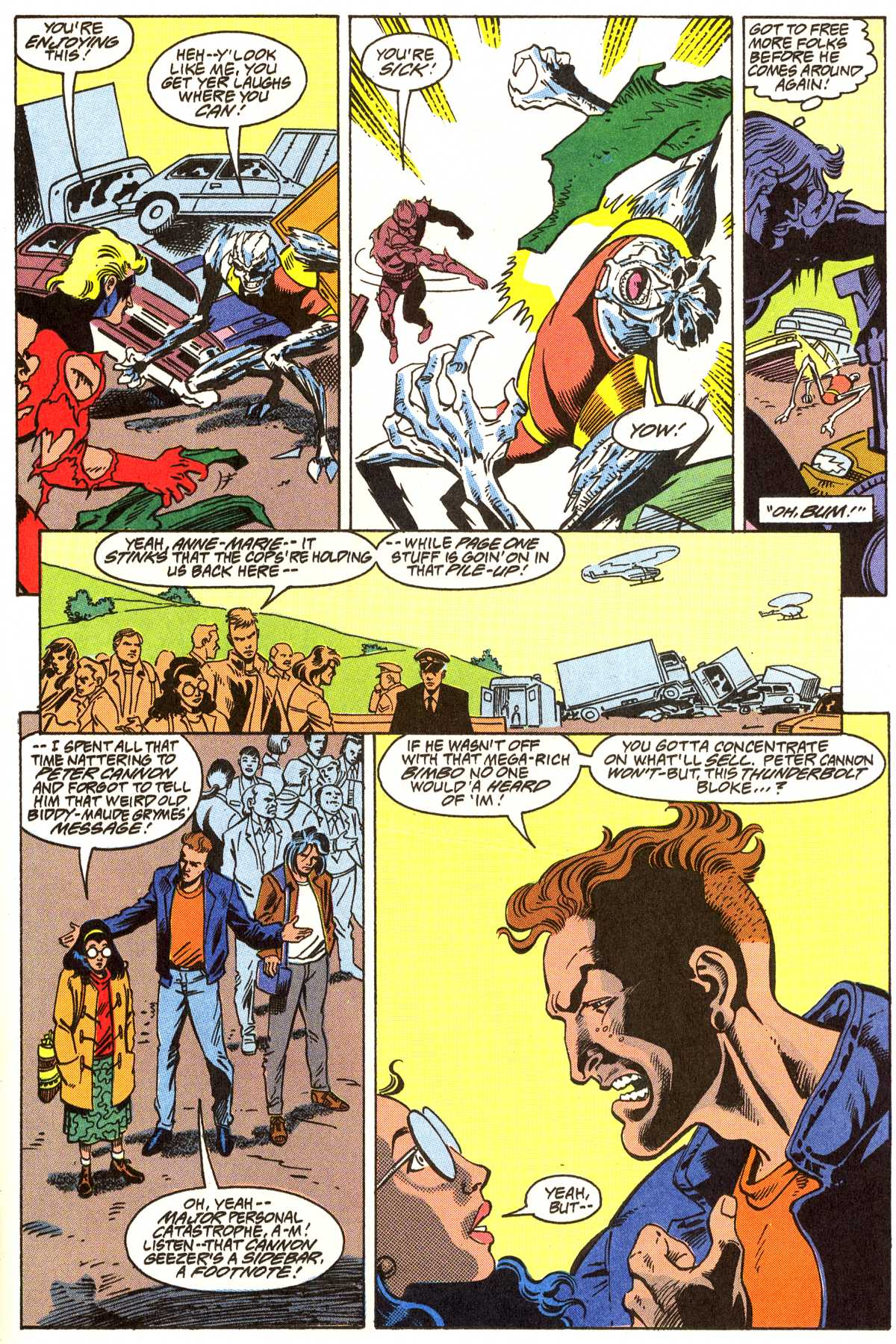 Read online Peter Cannon--Thunderbolt (1992) comic -  Issue #7 - 10