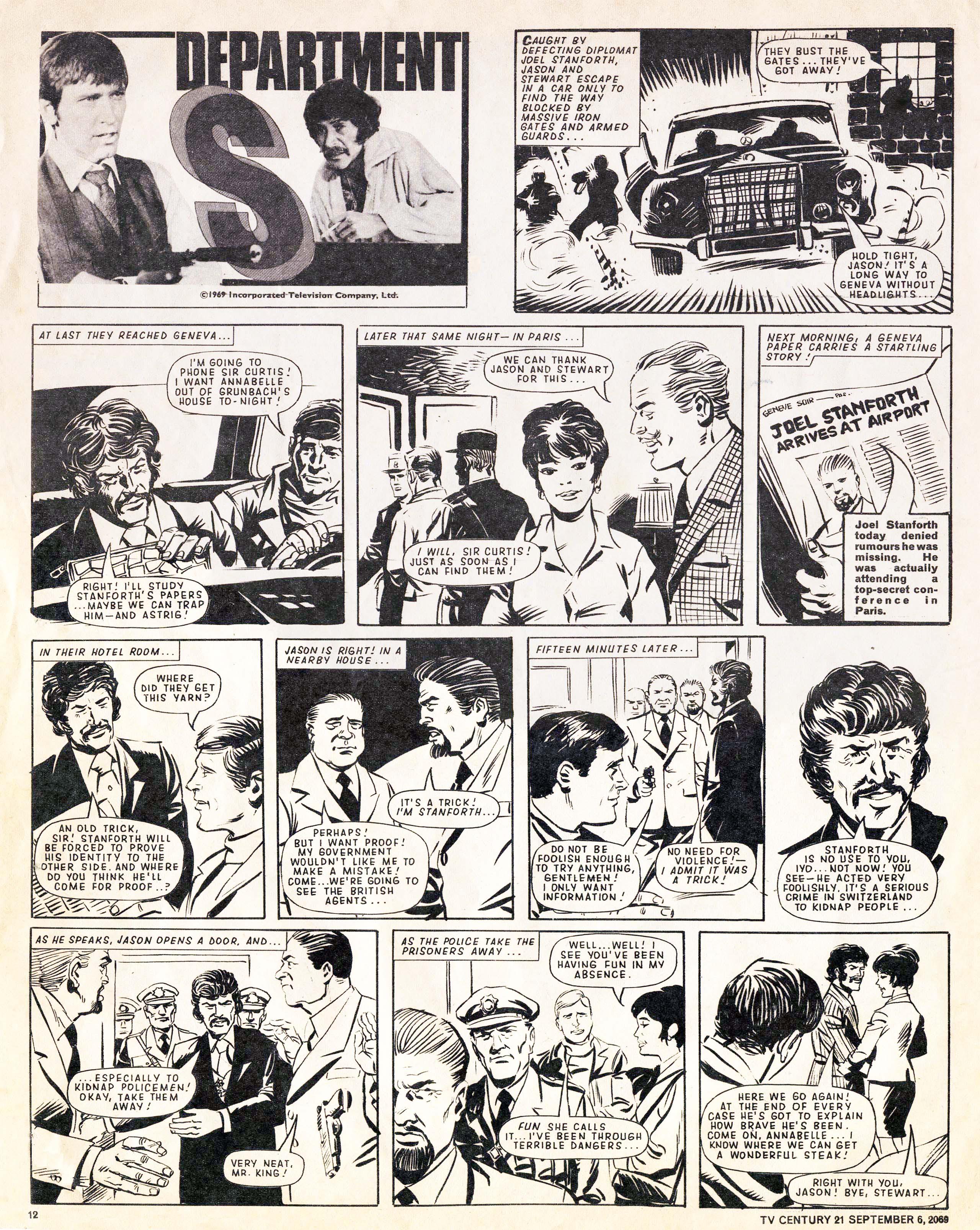 Read online TV Century 21 (TV 21) comic -  Issue #242 - 12