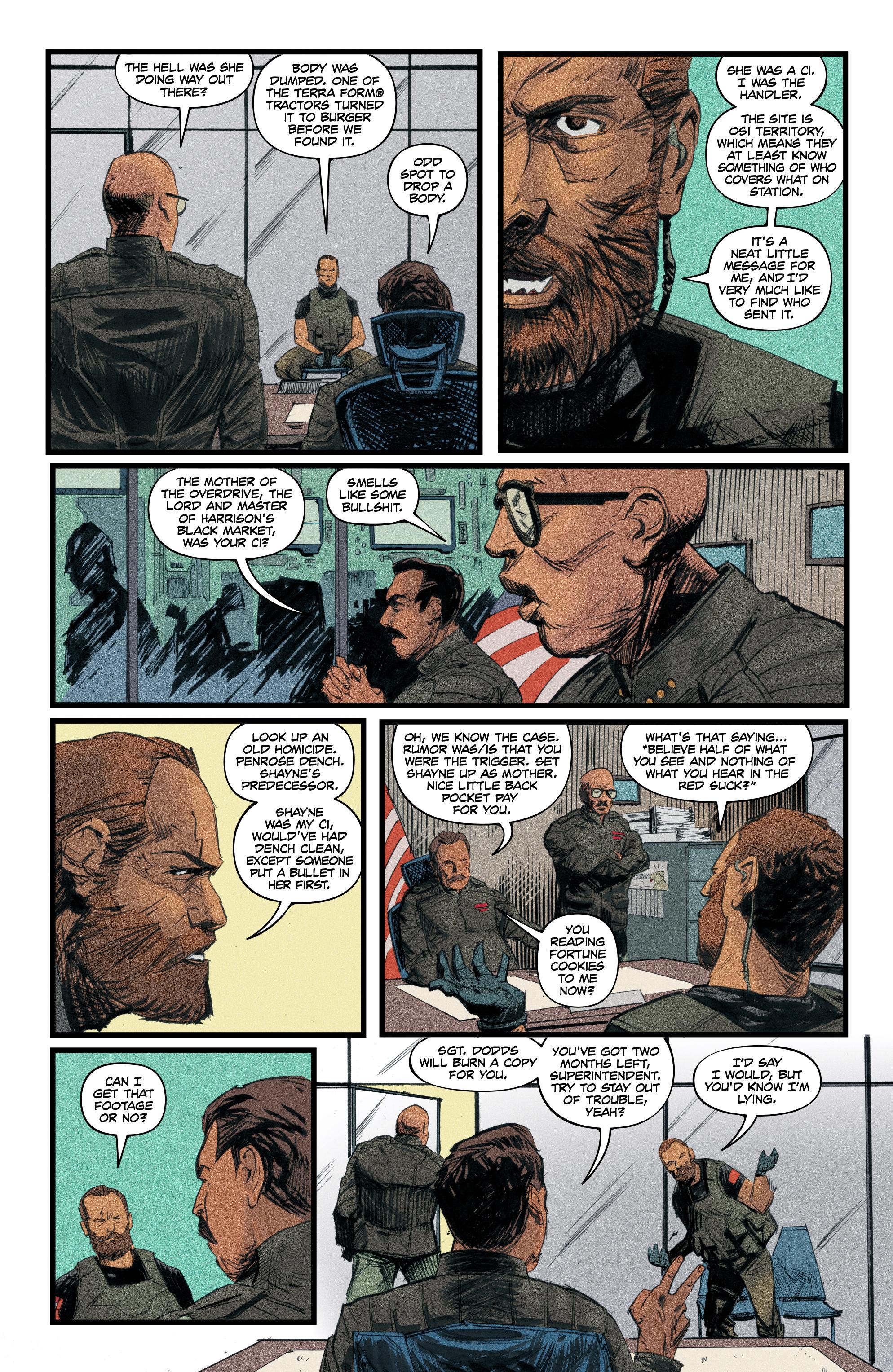 Read online Redline comic -  Issue #4 - 13