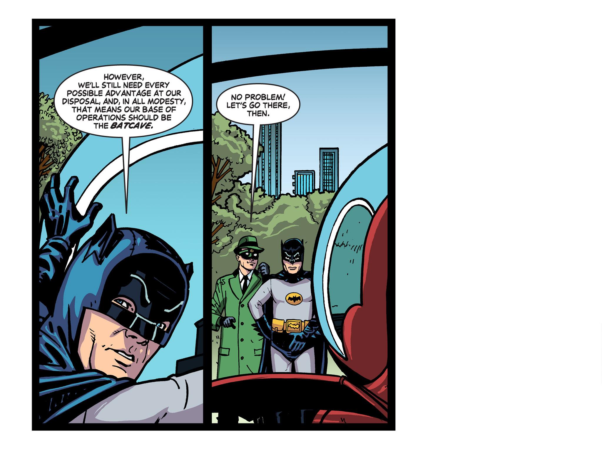 Read online Batman '66 Meets the Green Hornet [II] comic -  Issue #5 - 39