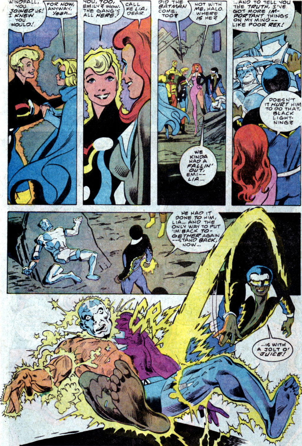 Read online Adventures of the Outsiders comic -  Issue #35 - 5