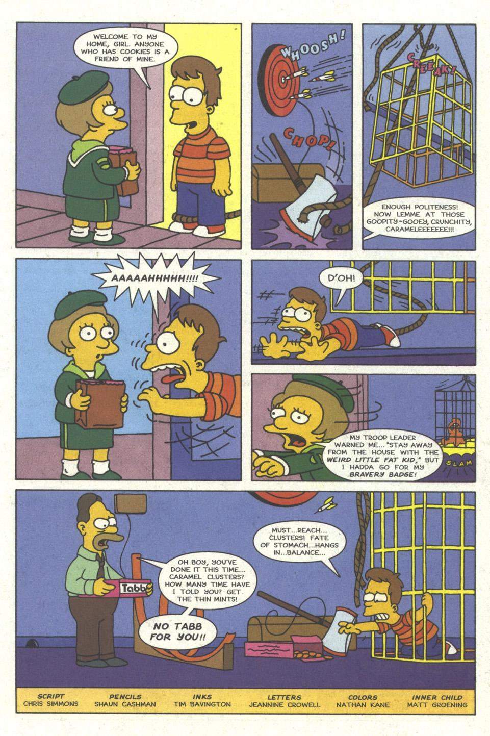 Read online Simpsons Comics comic -  Issue #24 - 31