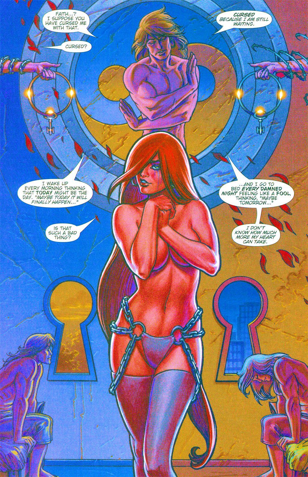 Read online Dawn: Three Tiers comic -  Issue #3 - 7