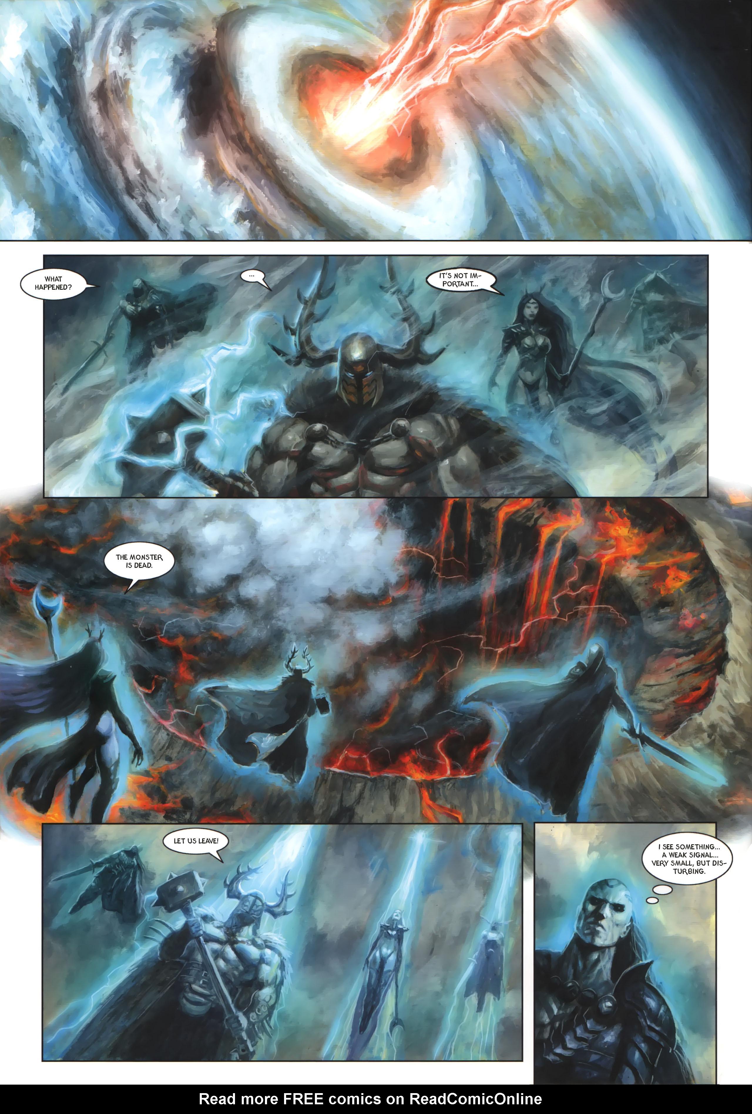 Read online Arawn comic -  Issue #6 - 23