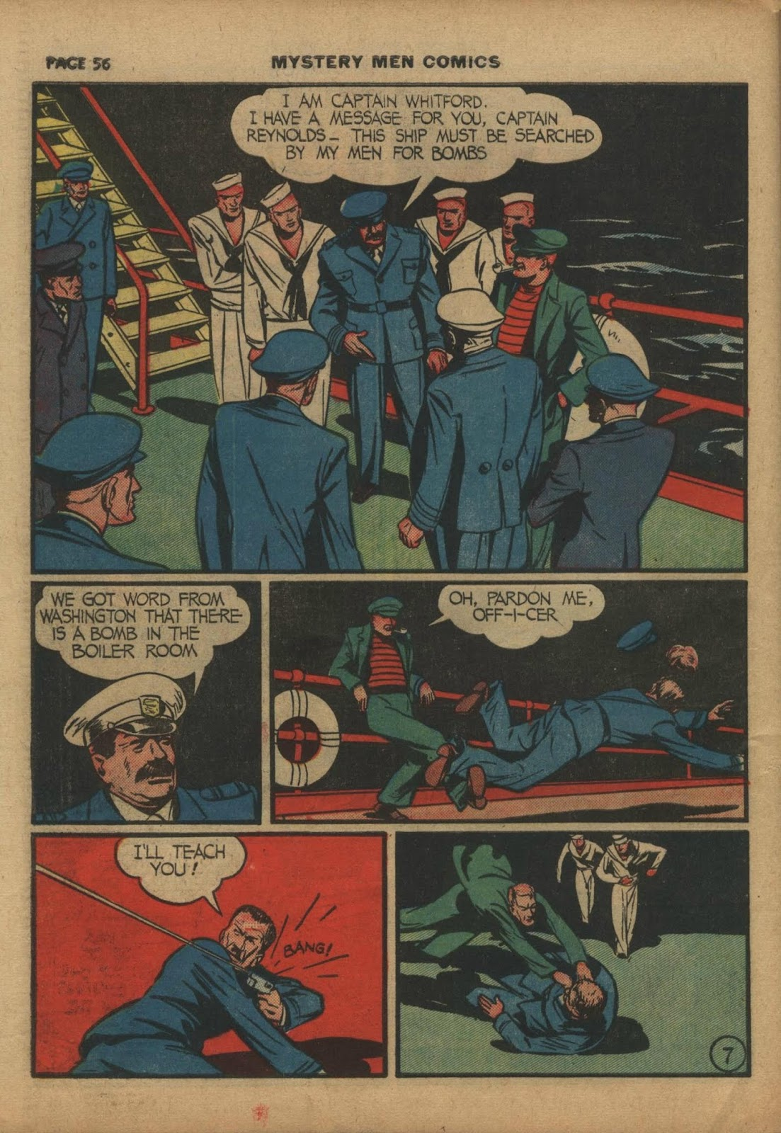 Mystery Men Comics issue 10 - Page 58