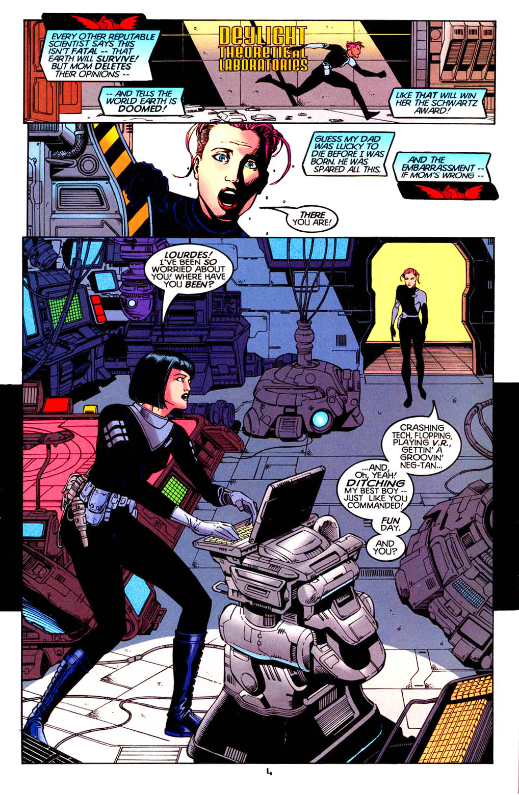 Read online Tangent Comics/ Doom Patrol comic -  Issue # Full - 5