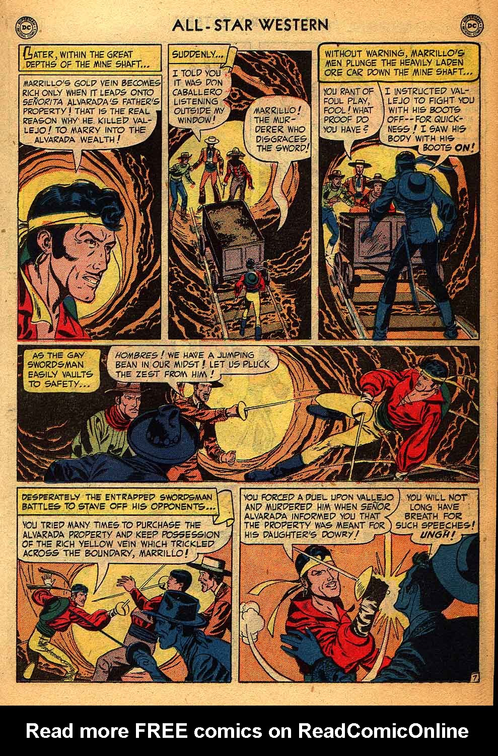 Read online All-Star Western (1951) comic -  Issue #58 - 21