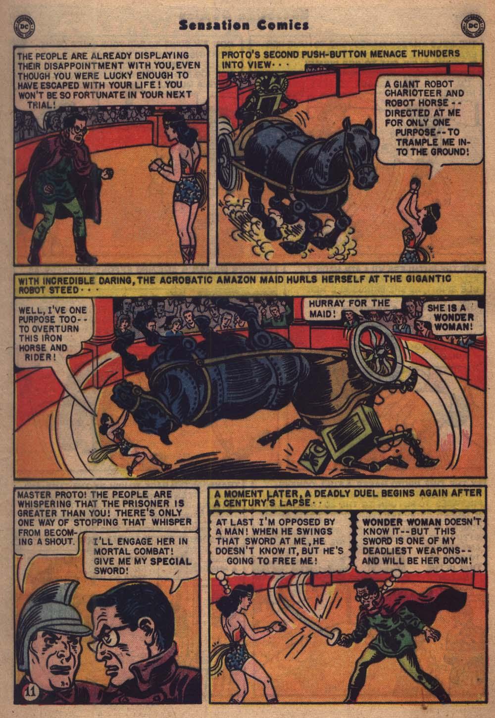 Read online Sensation (Mystery) Comics comic -  Issue #103 - 12