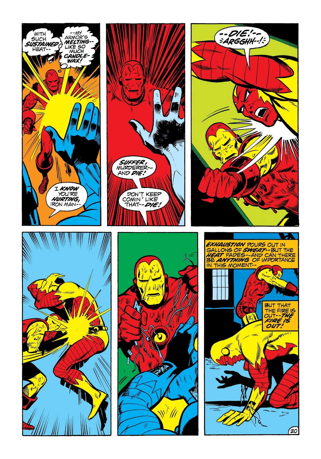 Read online Marvel Masterworks: The Invincible Iron Man comic -  Issue # TPB 8 (Part 3) - 8