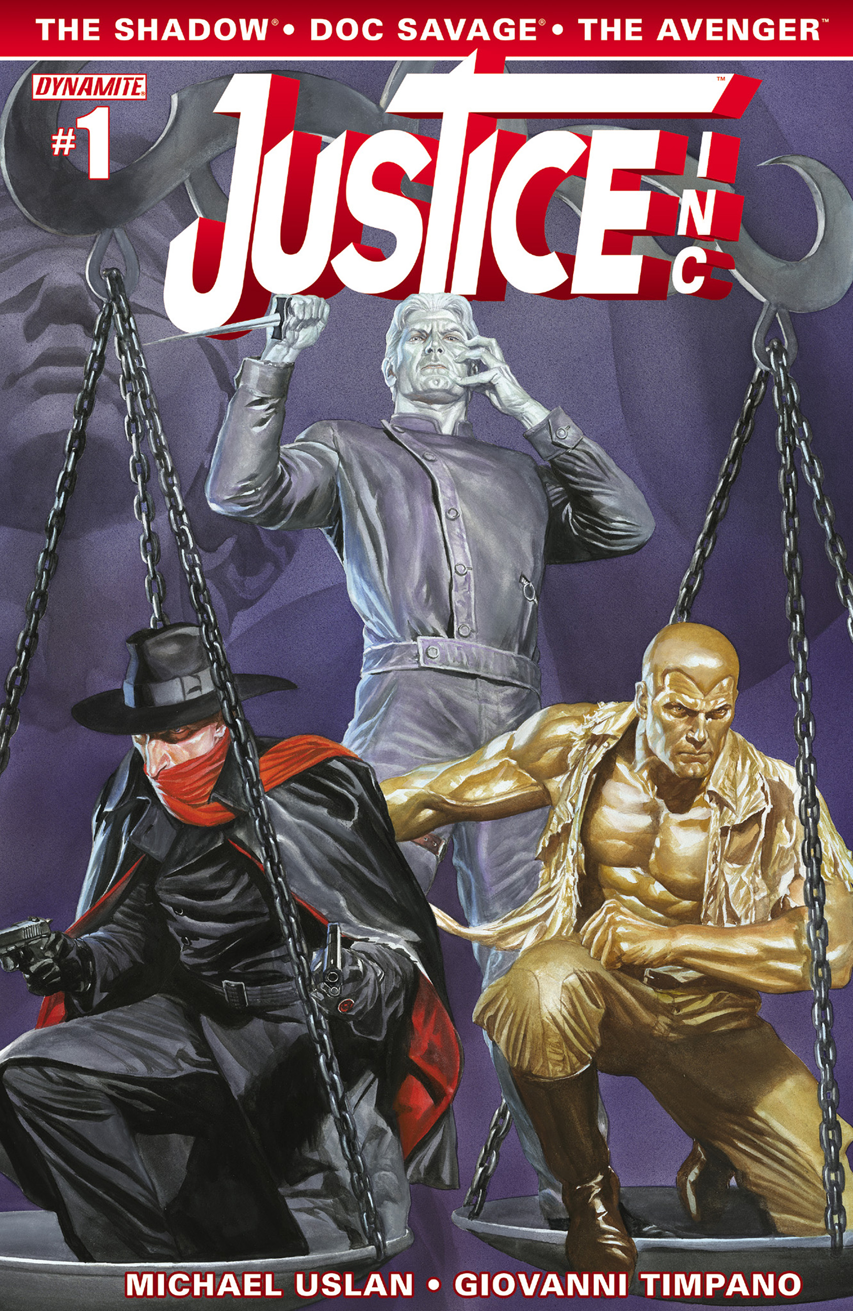 Read online Justice, Inc. comic -  Issue #1 - 1