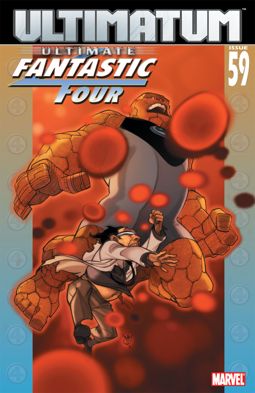 Read online Ultimate Fantastic Four (2004) comic -  Issue #59 - 1
