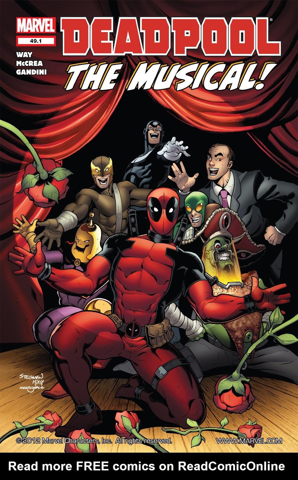 Read online Deadpool (2008) comic -  Issue #49.1 - 1