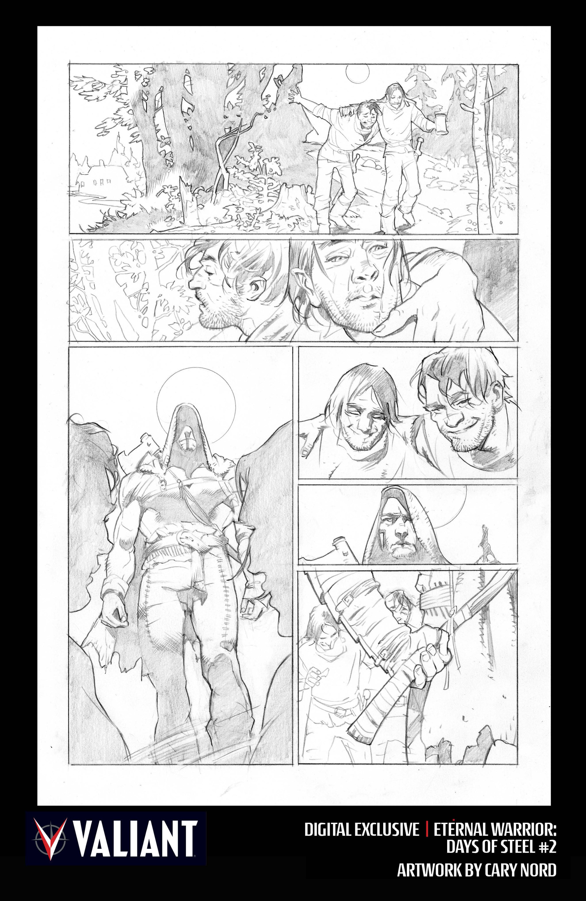 Read online Eternal Warrior: Days of Steel comic -  Issue #2 - 31