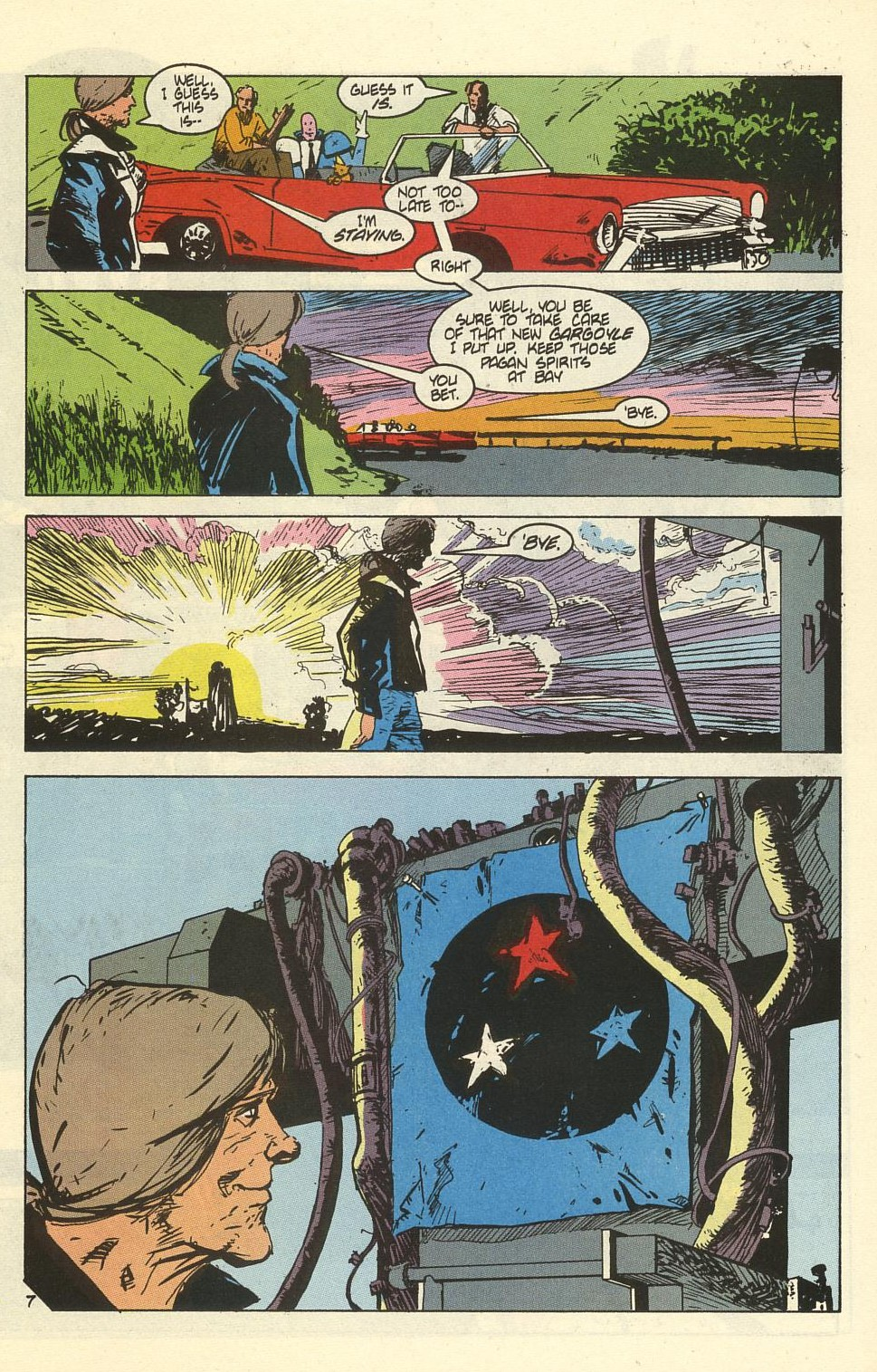 Read online American Flagg! comic -  Issue #41 - 9